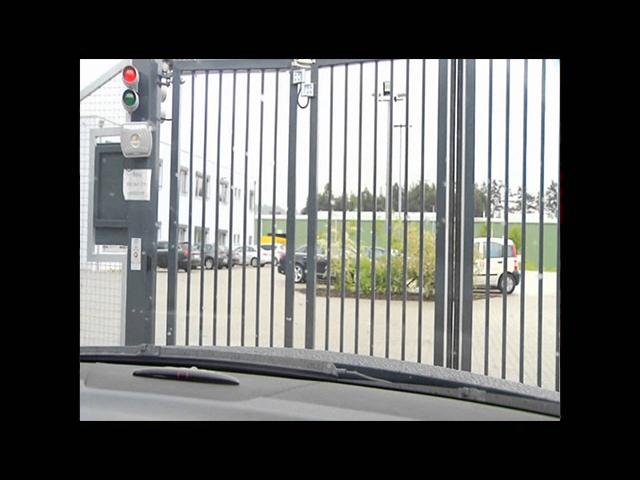 EntraQuick® quick folding gate / Werra Schnellfalttor EntraQuick®