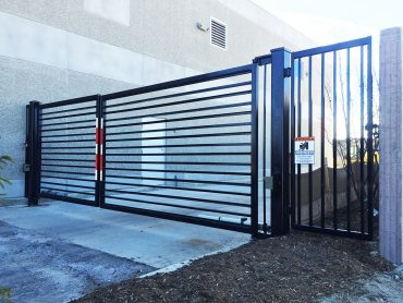 Industrial-Iron-Black-Swing-Gate-2----Advanced-Entry-Systems